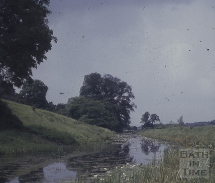 The Kennet and Avon Canal, Bathampton 1960s