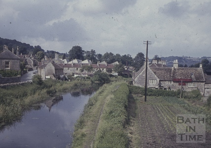 The Kennet and Avon Canal and George Inn, Bathampton 1960s