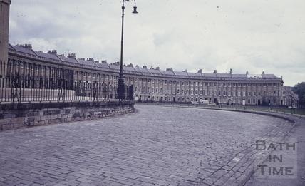 The Royal Crescent, Bath 1960s