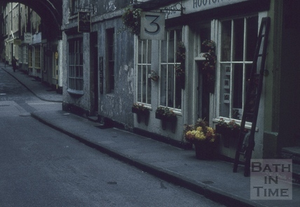 Hooton House Flower shop, Trim Street, Bath 1960s
