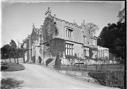 The Priory, Bathwick Hill, home of the Wills Family, c.1920s