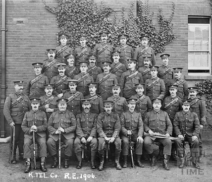 K. Tel Company, Royal Engineers 1906