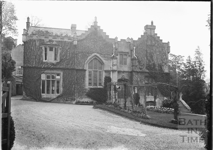 The Priory, Bathwick Hill. home of the Wills Family, c.1920s