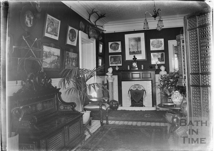 Interior of an unidentified house in Bath c.1910s