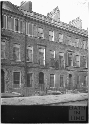 Nos. 8, 9 and 10 Sydney Place c.1920s