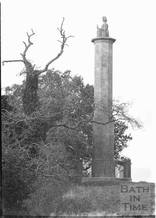Monument to Maud Heath, nr. Chippenham c.1920s
