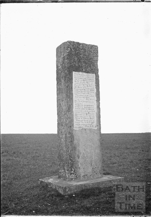 Robbers' Stone, Chitterne Down c.1920s