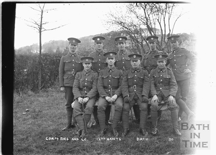 Corpl. Ries and Co, 12th Hants Bath No.30 c. April 1915