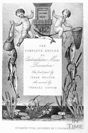 Blank template for Anglers Association ticket c.1908