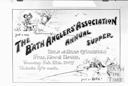 Bath Anglers Association Annual Supper Feb 12th 1907