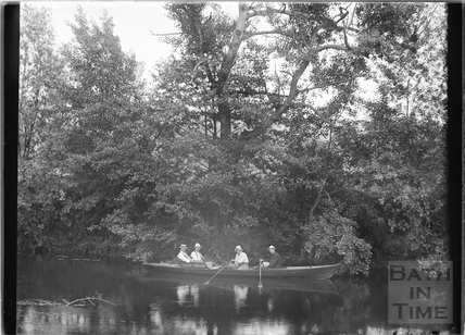Bath Anglers boating, c.1907