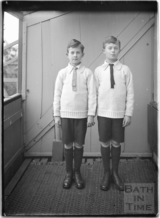 The photographer's twin boys c.1921