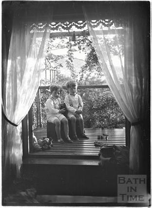 The photographer's twin boys c.1915