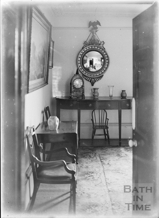 Looking into the photographer's living room c.1915