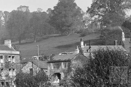 Coalpitfields, Batheaston c.1920 - detail