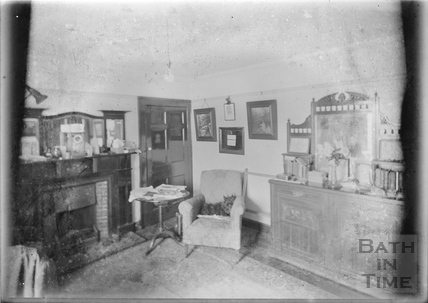 Inside the photographer's sitting room c.1950s