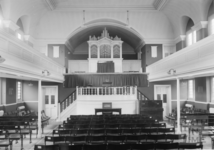 Inside Oldfield Park Baptist Church c.1920s