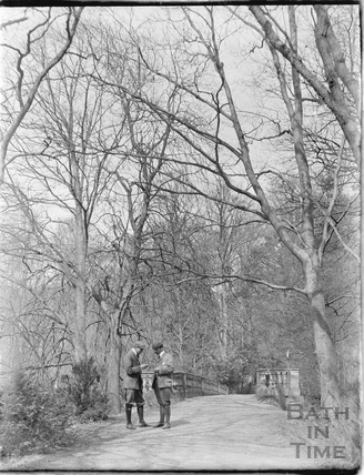 Cycling expedition to Orchardleigh c.1905