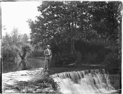 Warleigh Weir c.1905