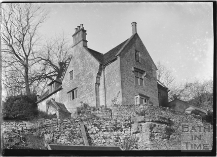 The Hermitage and garden, Freshford c.1920s