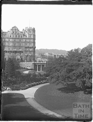 The Empire Hotel and Parade Gardens c.1910