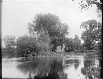 Unidentified lakeside scene c.1905