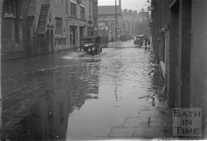 Bath in flood 1932