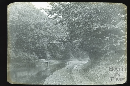 The Kennet and Avon Canal near Murhill c.1905