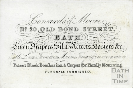 Coward & Moore, 20 Old Bond Street c.1830s