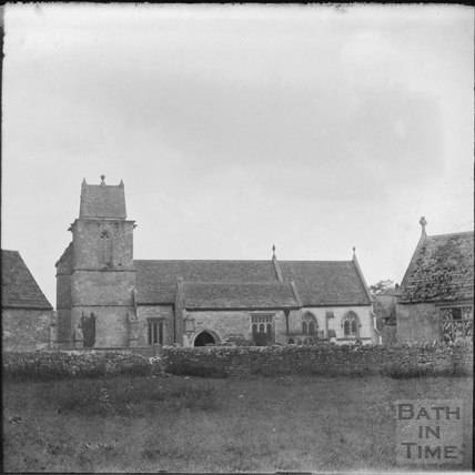 Church of St james, South Wraxall. c.1890s