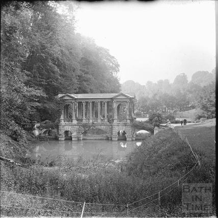 The Palladian Bridge, Prior Park c.1890s