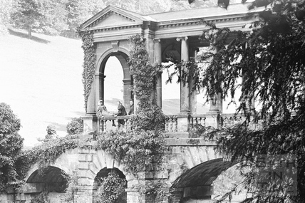 The Palladian Bridge, Prior Park c.1890 - detail