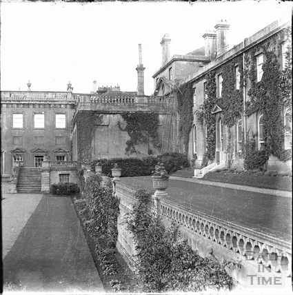 Bowood House and old mansion c.1890s