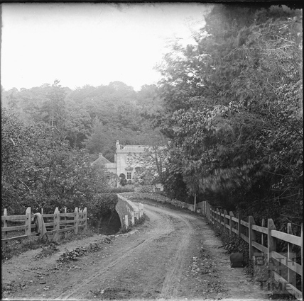 Approach to Iford Manor over the bridge c.1890s