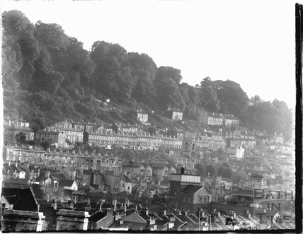 View over Widcombe towards Holloway c.1920s