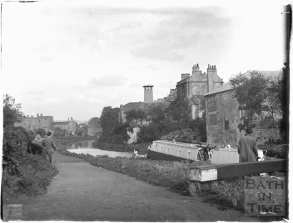 Kennet and Avon Canal, Bathwick, Bath c.1920