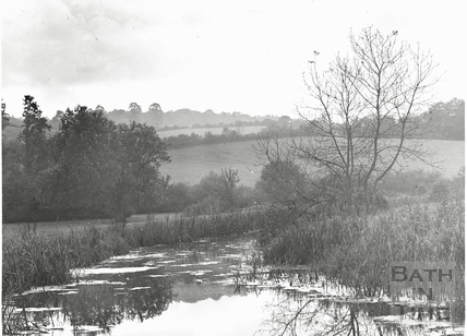 The Somersetshire Coal Canal near Midford c.1910s