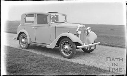 The photographer's car c.1920s