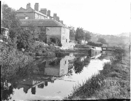 The Kennet and Avon Canal, Sydney Buildings, Bathwick, Bath c.1910