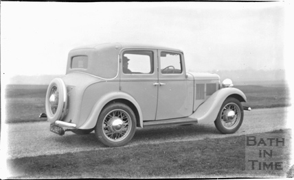The photographer's car c.1920s