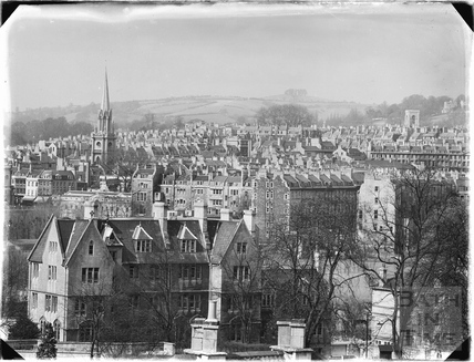 View towards St Michaels Church c.1950s