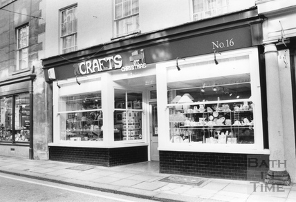 Crafts at Christmas, No 16 Westgate Street Oct 1991