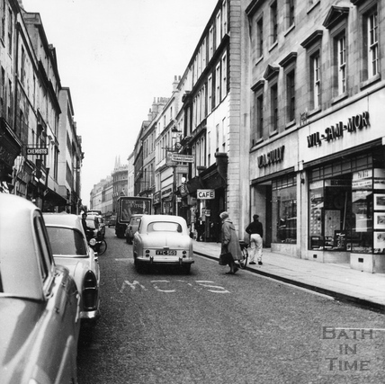 View down Westgate Street c.1960s