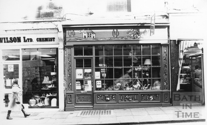 Luther Wilsons Chemist and Bowlers, Westgate Street 6 April 1989