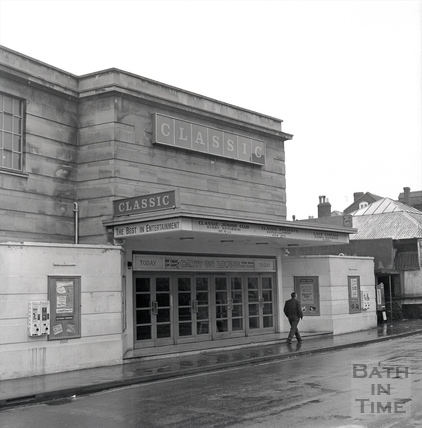 The Classic Cinema, Cork Street, Frome 29 Dec 1970