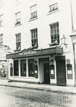 The Westgate Hotel (formerly the Angel Hotel), 38, Westgate Street, Bath 1984