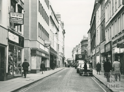 Westgate Street, January 1977