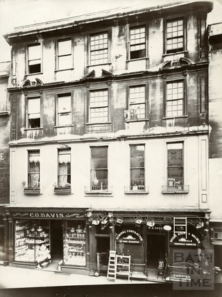 19 and 19a, Westgate Street, Bath c.1903
