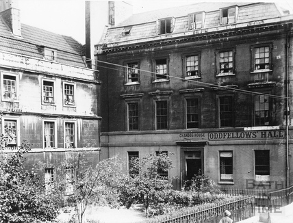 Oddfellows Hall, Chandos House, Westgate Buildings, view of facade c.1930