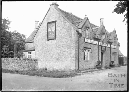 The Royal Oak Inn, Leighterton near Tetbury, Wilts c.1920s
